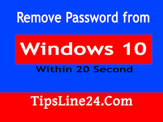 remove password,windows-10,tips-line,technology,how to remove password from windows-10