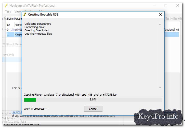 Hướng dẫn tạo USB Boot cài Windows 7 Ultimate