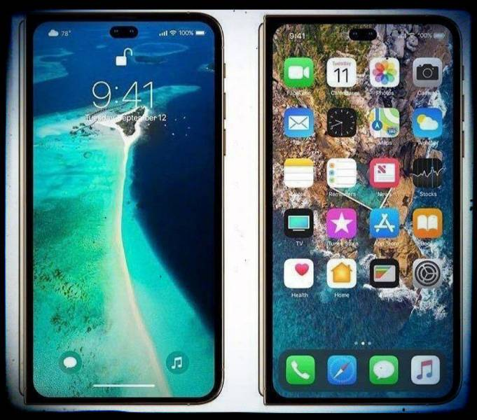 What would a foldable iPhone look like if it were released today?