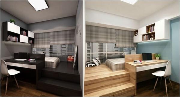تصاميم ديكورات غرف النوم تناسب جميع المساحات