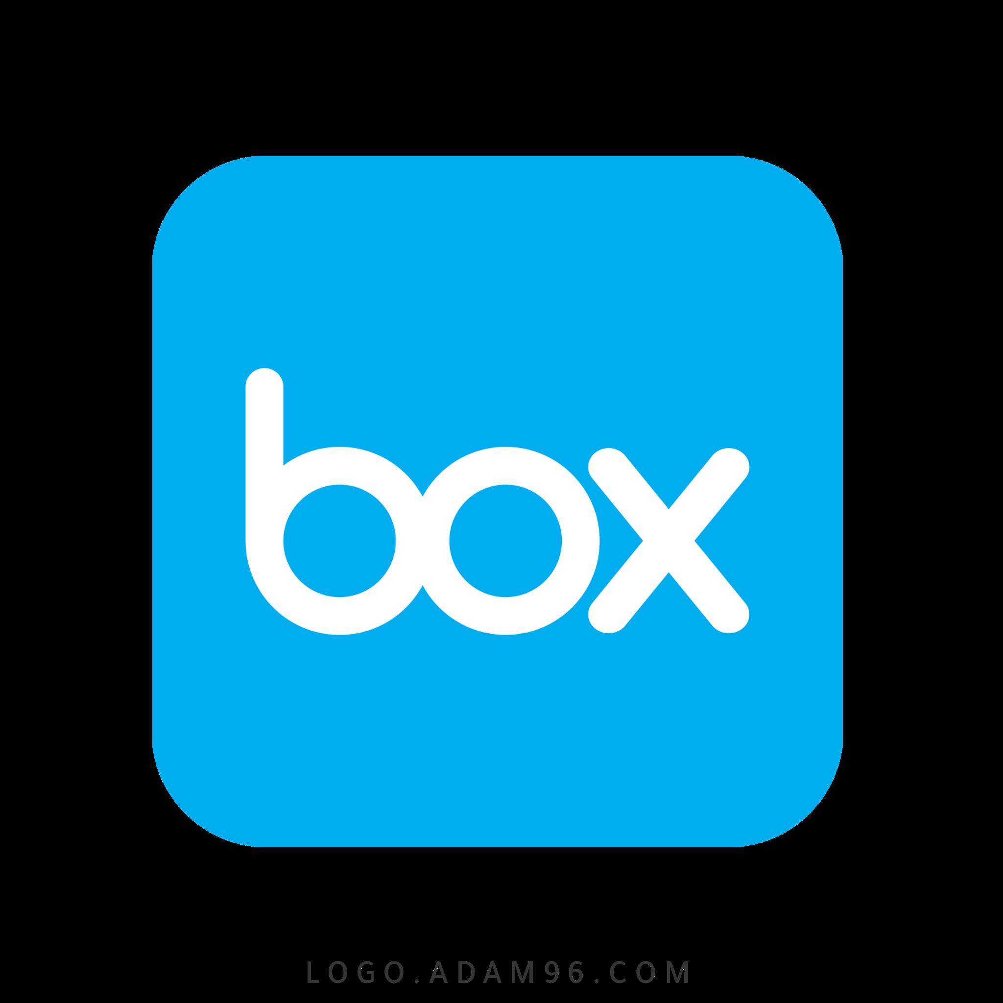 تحميل شعار موقع رفع الملفات بوكس لوجو رسمي عالي الجوده LOGO BOX PNG