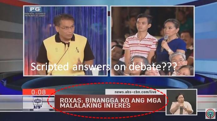 Netizens ask ABS-CBN on alleged debate leakage.