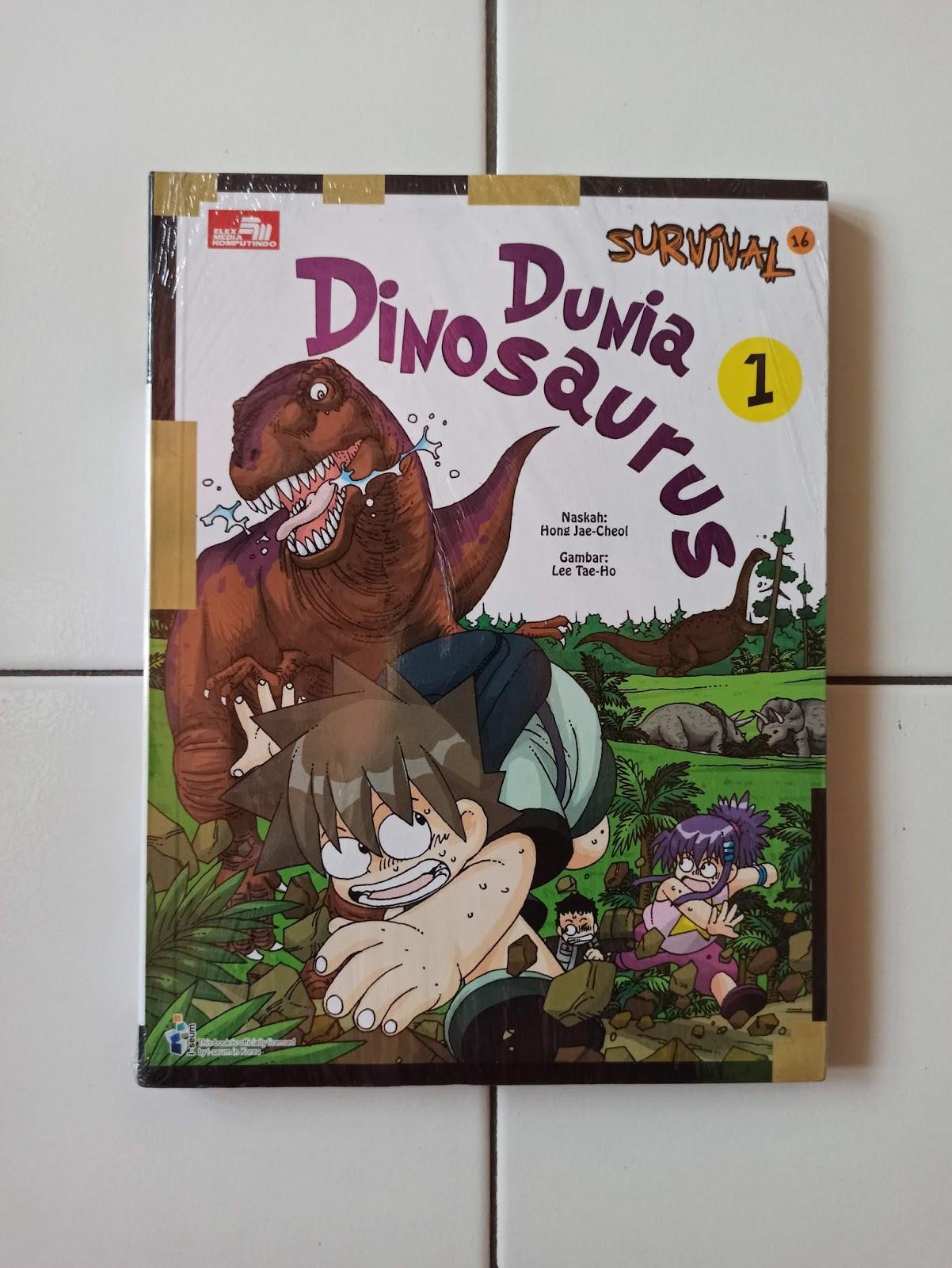 Buku Anak Dunia Dinosaurus