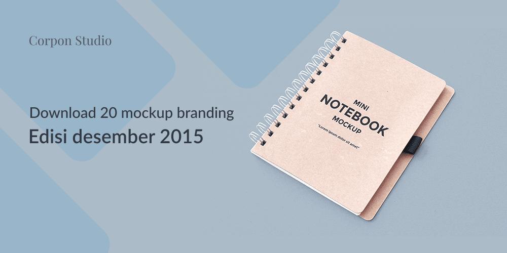 Download 20 Mockup Branding Terbaru