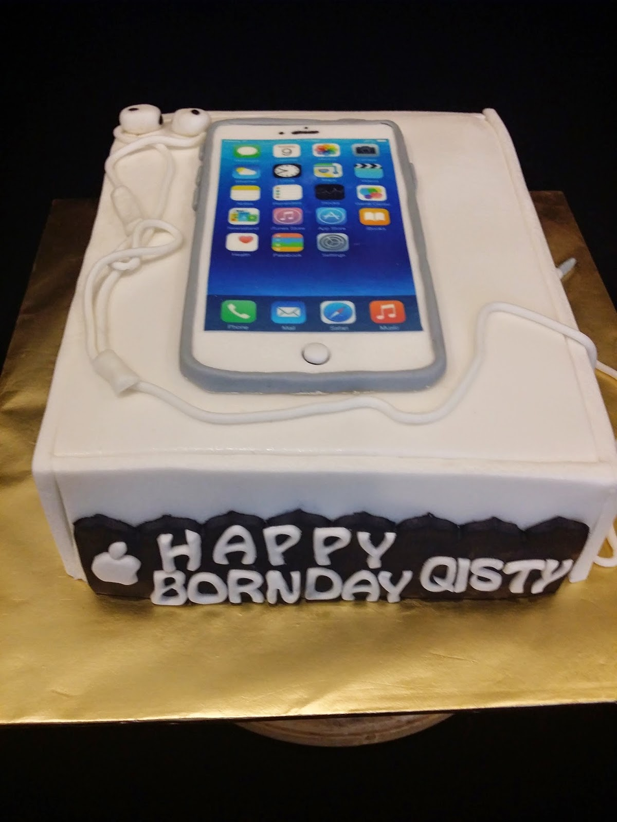 Sweet Creations Iphone 6 Cake For Qisty