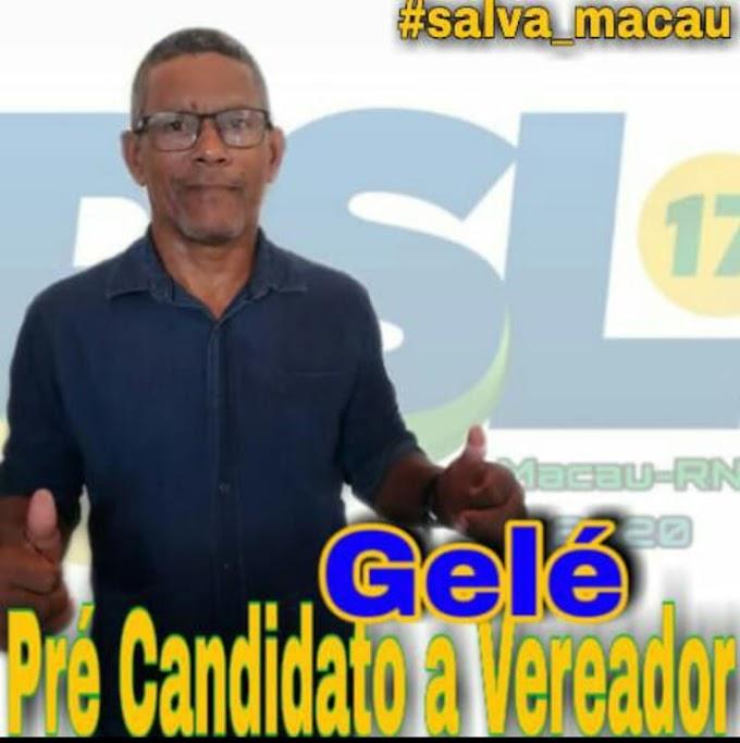 POLÍTICA: Francisco Andrade (Gelé) disputará o pleito eleitoral como pré-candidato a vereador pelo PSL; confira um pouco de sua história