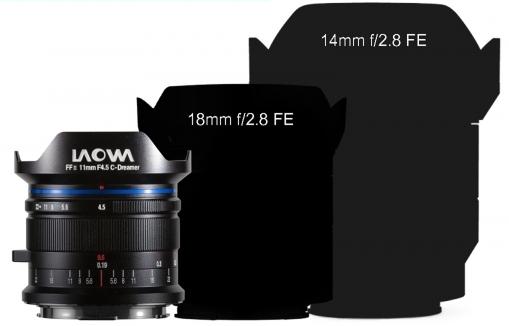 Laowa 11mm f/4.5 в сравнении с другими широкоугольными объективами