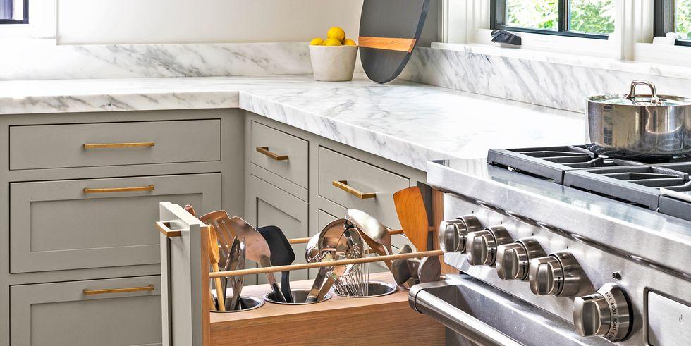38 ideas de almacenamiento en la cocina son cambios importantes en la cocina de cualquier tamaño