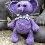patron gratis elefante amigurumi | free pattern amigurumi elephant