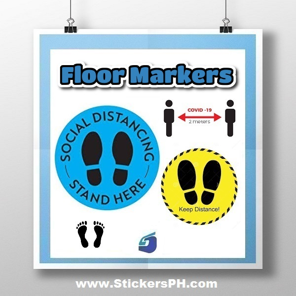 Floor Markers, Stickers & Decals Philippines