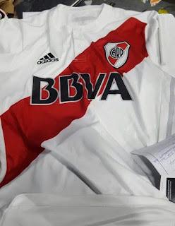 Nueva, Camiseta, River, River Plate, Titular, 2016, 2017, BBVA Frances, Banco Frances, Huawei