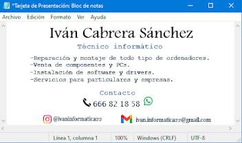 Ivan Informatica 666821858
