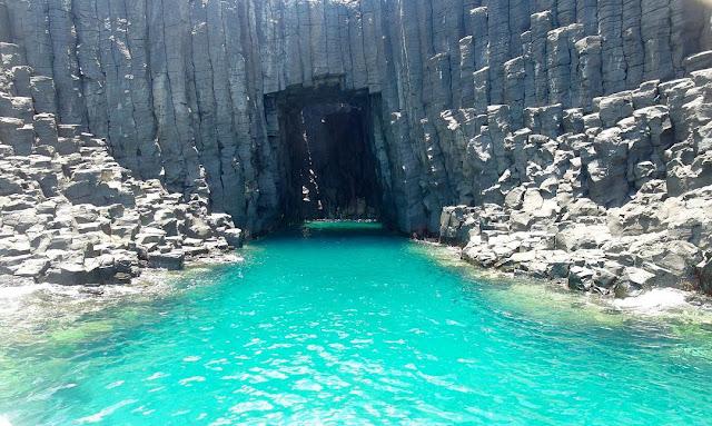 澎湖景點-藍洞