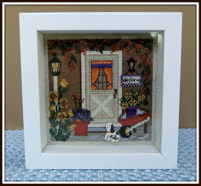 My Country Welcome - Button & Beads Mill Hill Cross-stitch Kit