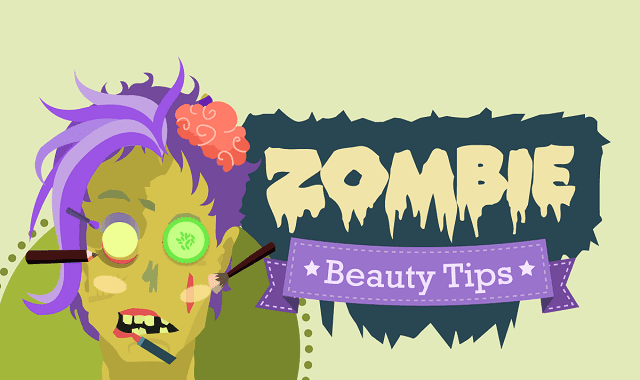 Zombie Make-up Beauty Tips