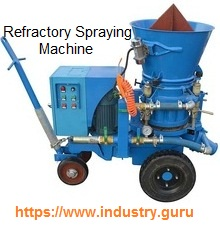 https://www.industry.guru - Refractory Spraying machins image