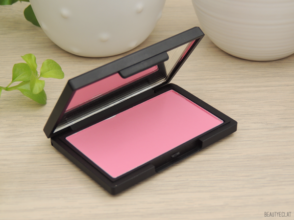 revue avis test sleek blush pixie pink