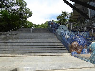 花博記念ホール 階段