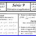 سلسلة تمارين الرياضيات الباكالوريا الدولية maths exercices bac international 1bac