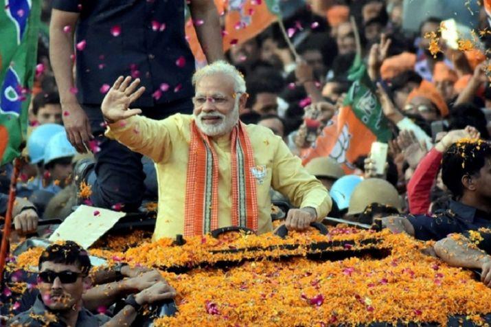 Report Presented to Narendra Modi on Winning Seats