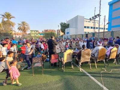 مدرسة أم القري تكريم حفظة كتاب الله بمركز شباب اللاهون فى احتفالية كبري