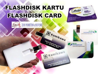 Jual USB Flashdisk Promosi Model Kartu di Tangerang