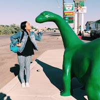 green dinosaur, the good dinosaur, utah, lauren banawa, green river utah
