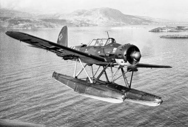 Arado Ar 196 floatplane worldwartwophotos.filminspector.com