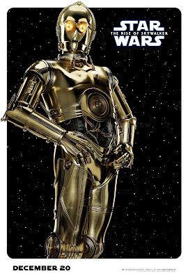 Star Wars The Rise of Skywalker C-3PO poster