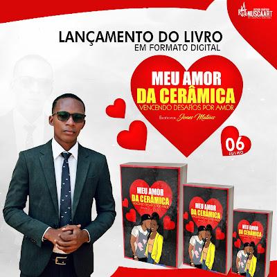 """Jones Mateus lança livro digital intitulado """" Meu Amor da Cerâmica """""""