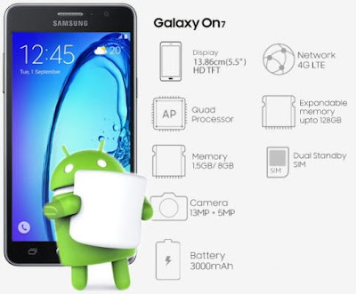 Samsung Galaxy On 7 SM-G600FY 6.0.1 Marshmallow Firmware