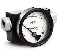 Differential pressure gauge (Ashcroft)