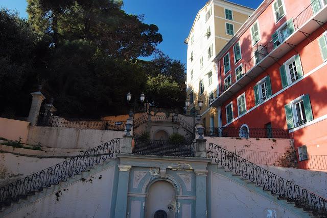 escaliers jardins Romieu Bastia