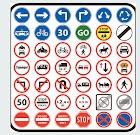 كيفية تعلم الاشارات المرورية ؟