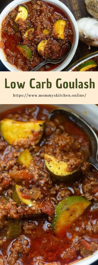 Low Carb Goulash #delicious #healthy