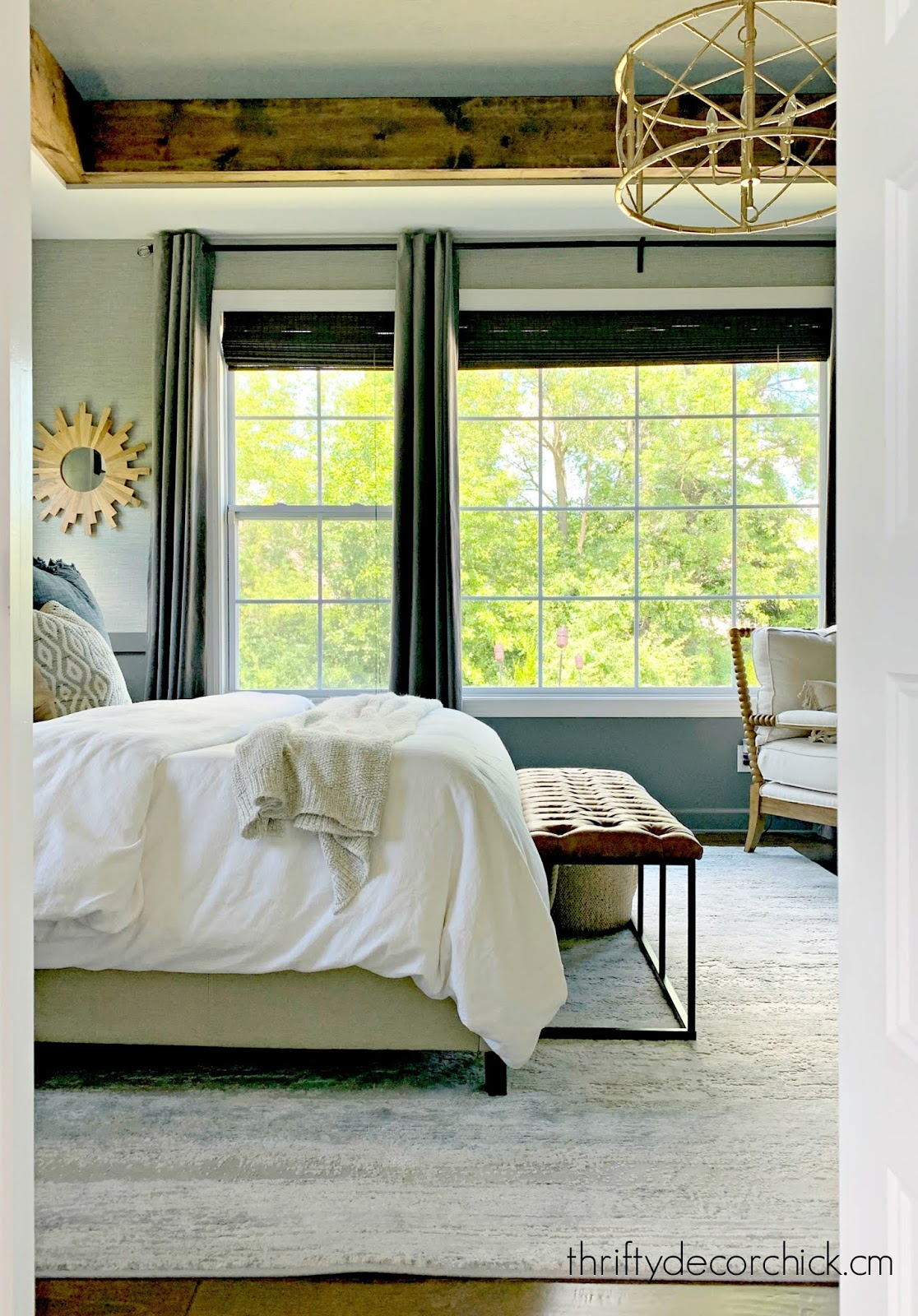 master bedroom big windows