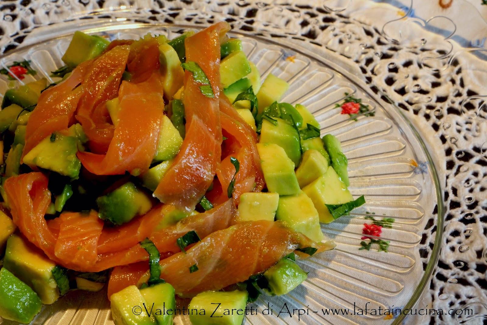 La fata in Cucina: Insalata di salmone ed avocado