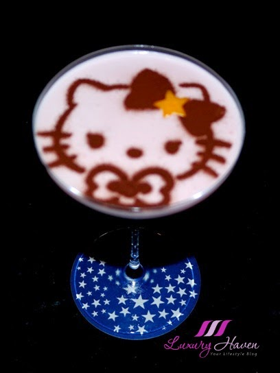 keio plaza tokyo polestar hello-kitty cocktail cute