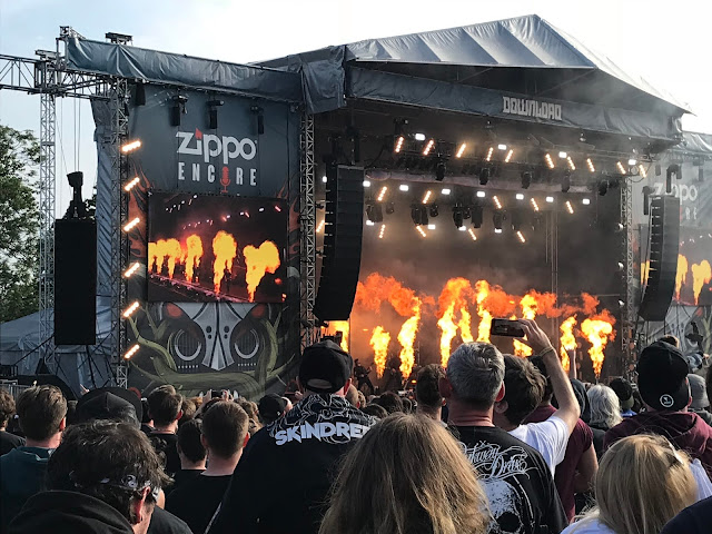 Parkway Drive at Download UK 2018