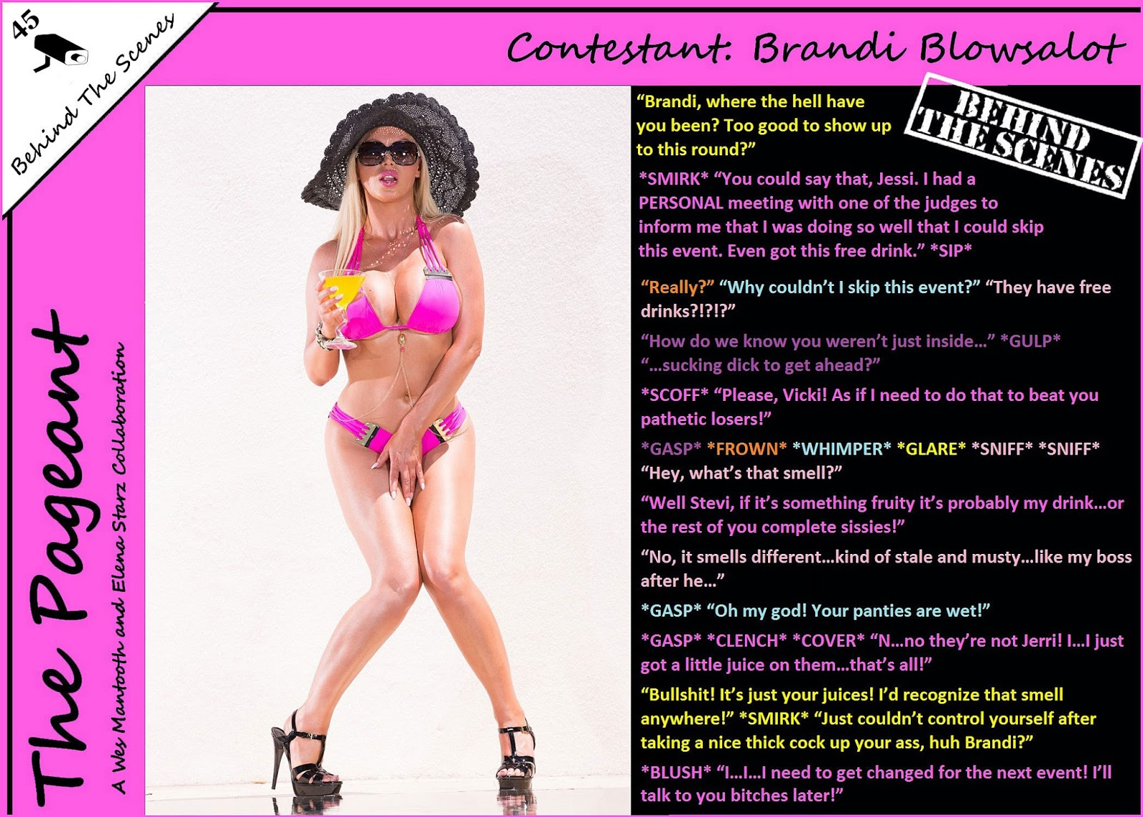Interracial Sissy Captions The Pageant Lingerie Competition-8372