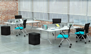 Mayline Even Series Collaborative Benching Systems