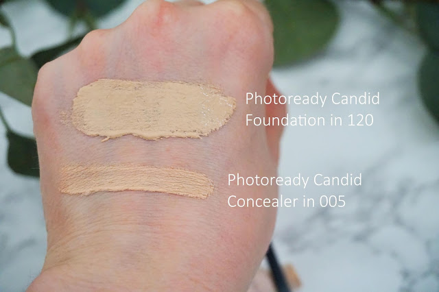 Review Revlon - Photoready Candid Foundation und Concealer Swatches