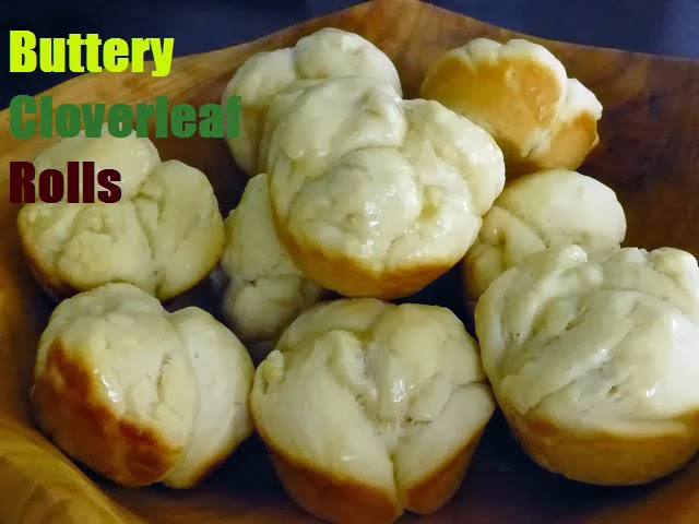 Dinner Roll Recipe, Butter