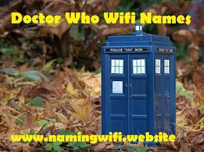 Doctor who wifi names