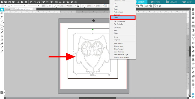 paper projects, 3D Layered Paper project, advanced silhouette studio tutorials, silhouette studio v4, silhouette studio v3