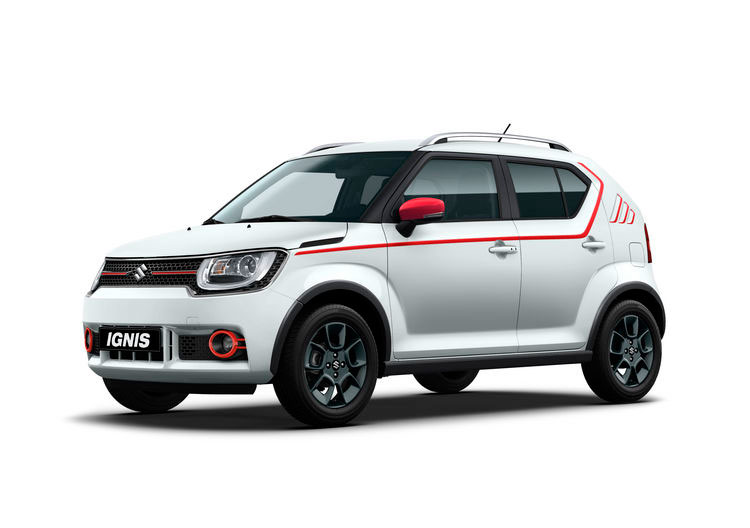 test suzuki ignis 4x4 hybrid bil og motorbloggen. Black Bedroom Furniture Sets. Home Design Ideas