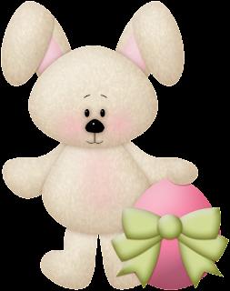 Clipart de Ositos para Pascua.