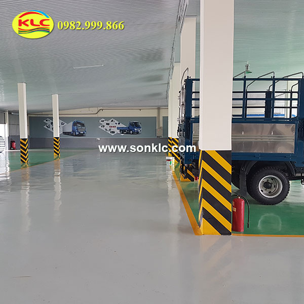 Received the construction of high quality advanced basement epoxy coating
