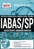 Apostila Processo Seletivo IABAS SP 2017