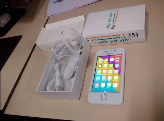 Freedom 251: Reality of its Prices